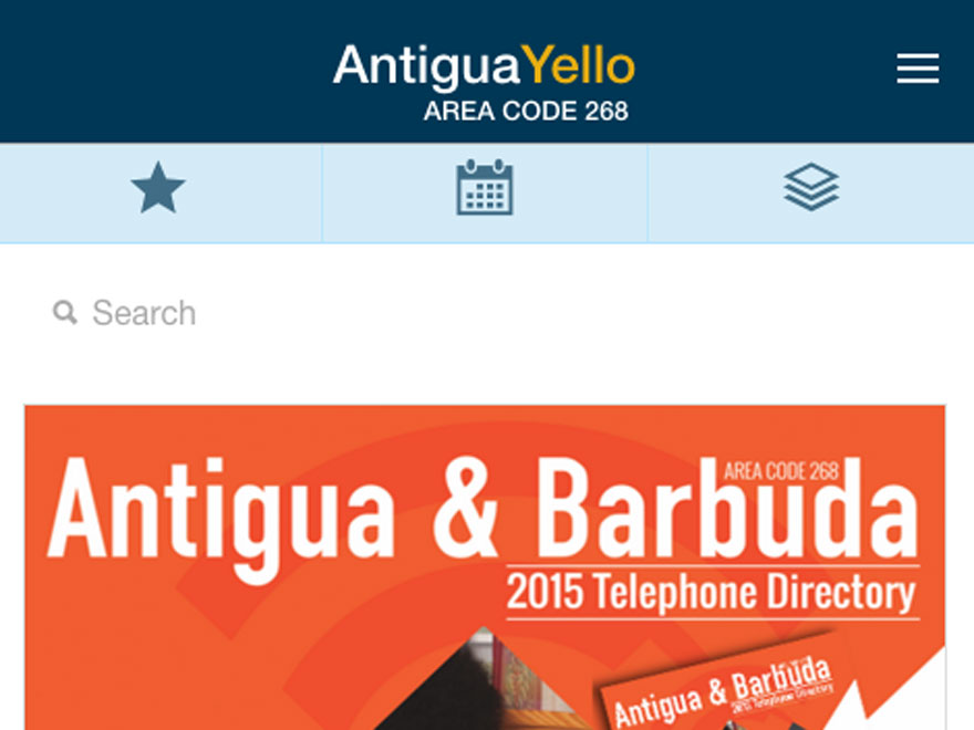 Antigua Yello Pages Mobile